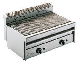 Arris Grillvapor GV855 Slimline gas radiant chargrill with water tray