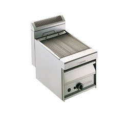 Arris Grillvapor GV409 gas radiant chargrill with water tray