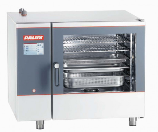 Palux Maxi 611BQL-W - 7 x 2/1gn electric combi oven with wash system