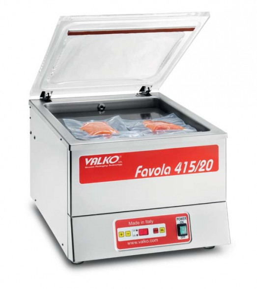 Valko Favola 415/25 Chamber Vacuum packaging machine - 415mm sealing bar