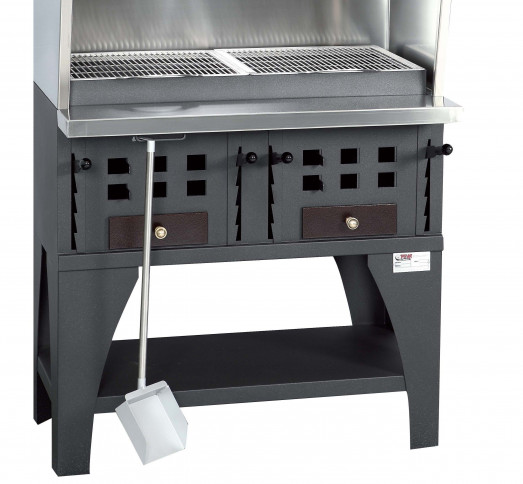 Peva BB100+ Charcoal chargrill