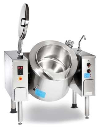 Firex PMKIE300 330 ltr Electric Indirect heat tilting kettle - Manual controls