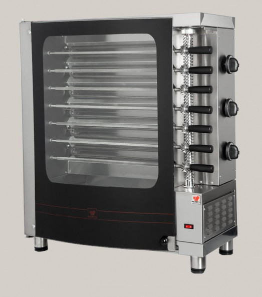 North R7 Slimline Electric Churrasco/Rotisserie grill