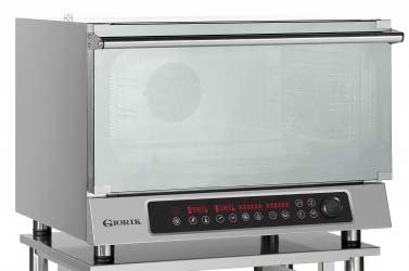 Giorik MDR42X 4 rack electric bake off convection oven with programmable controls & Humidity
