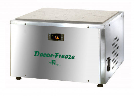 Decor-Freeze - Refrigerated decorating plate for chocolate