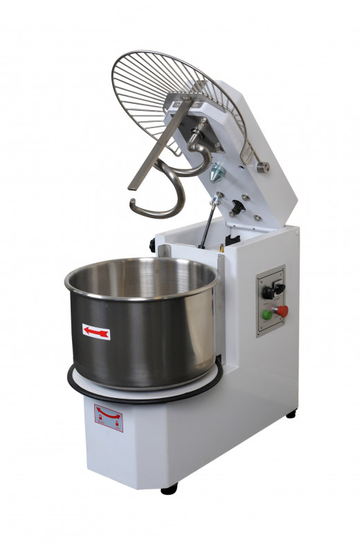 Chefsrange DH30T - 30 litre spiral mixer with raising head & removable bowl