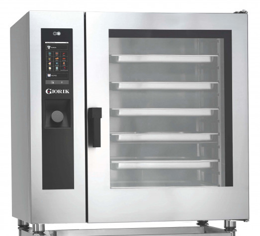 "Giorik Evolution SDTE102UK Electric Heavy Duty Bake Off oven - 9 x 30"" x 18"" tray capacity"