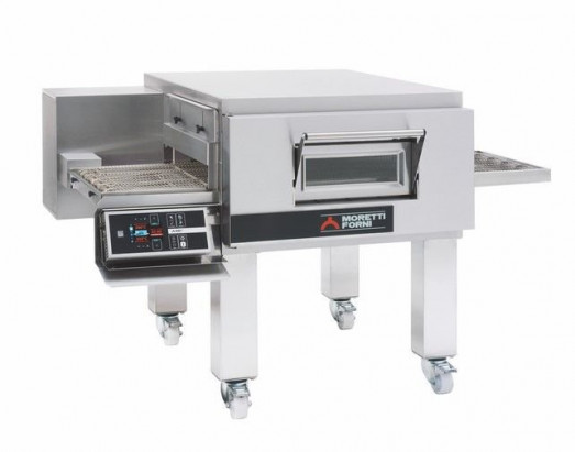 "Moretti Forni T75E - 20"" Belt - Electric Impinger Hot air conveyor oven"