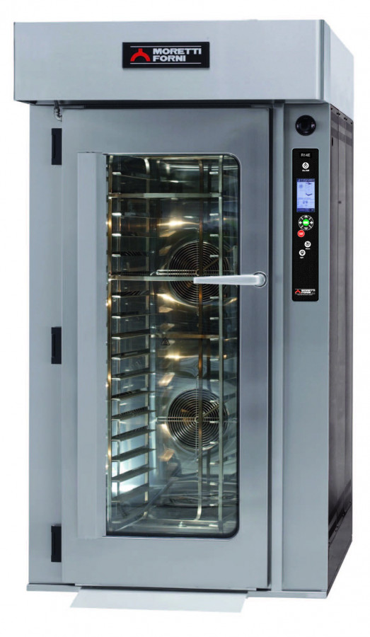 Moretti Forni R14E - Roll In Electric Rotary Bakery oven