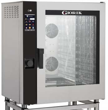 Giorik Movair MTG10W-R 10 rack Gas Combi/Bake off oven with wash system