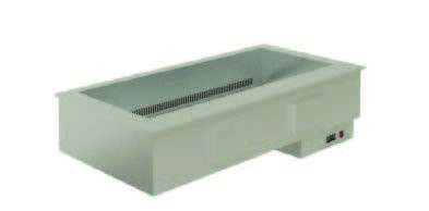 Elegance 8046417 Drop In Dry Heat Bain Marie - Fan blown