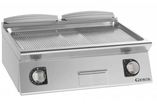Giorik FRG741TX Gas griddle - ribbed plate