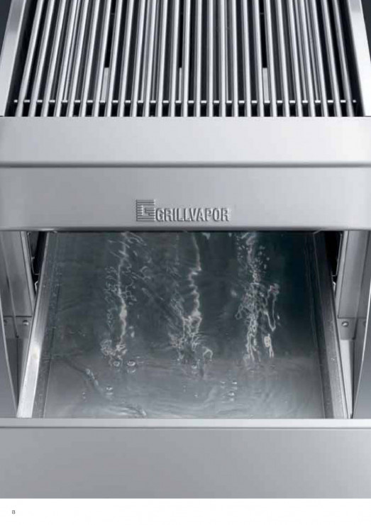 Arris GE509EL-TOP Hi speed overgrill chargrill, cooks both sides at the same time - with water tray