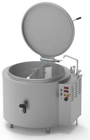 ICOS PTFMIE300/N  300 Ltr Boiling pan with Mixer - Electric Indirect heat
