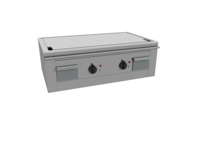 Casta TEP2B/120E Electric Teppanyaki Griddle - 2 Heating zones