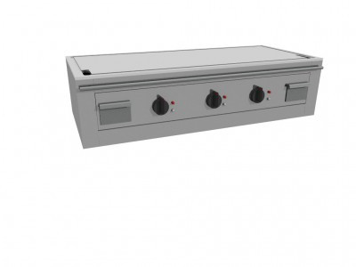 Casta TEP3B/140E Electric Teppanyaki Griddle - 3 Heating zones
