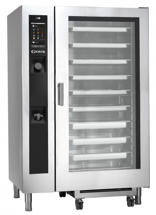 "Giorik SERG202W ""Steambox Evolution"" - Roll In 20 x 2/1gn rack Gas Combi Oven"