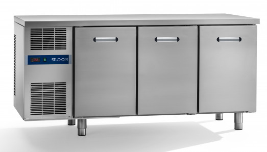 ST54 Daiquiri 66502430 Bakery Triple door freezer bakery counter