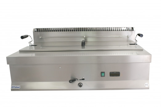 FR670E1-10 - 10 Ltr Electric Flat bottom Fish-Tempura fryer